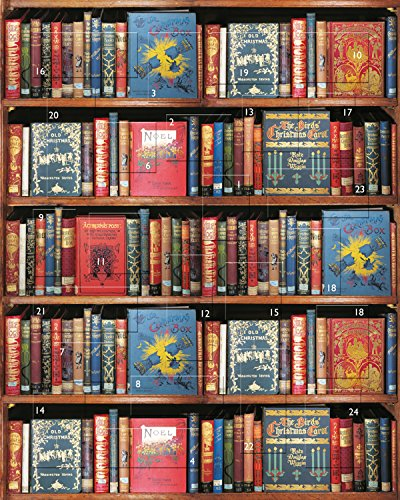 Bodleian Library ST1299 Christmas Bookshelf - 8 x 10 Advent Calendar