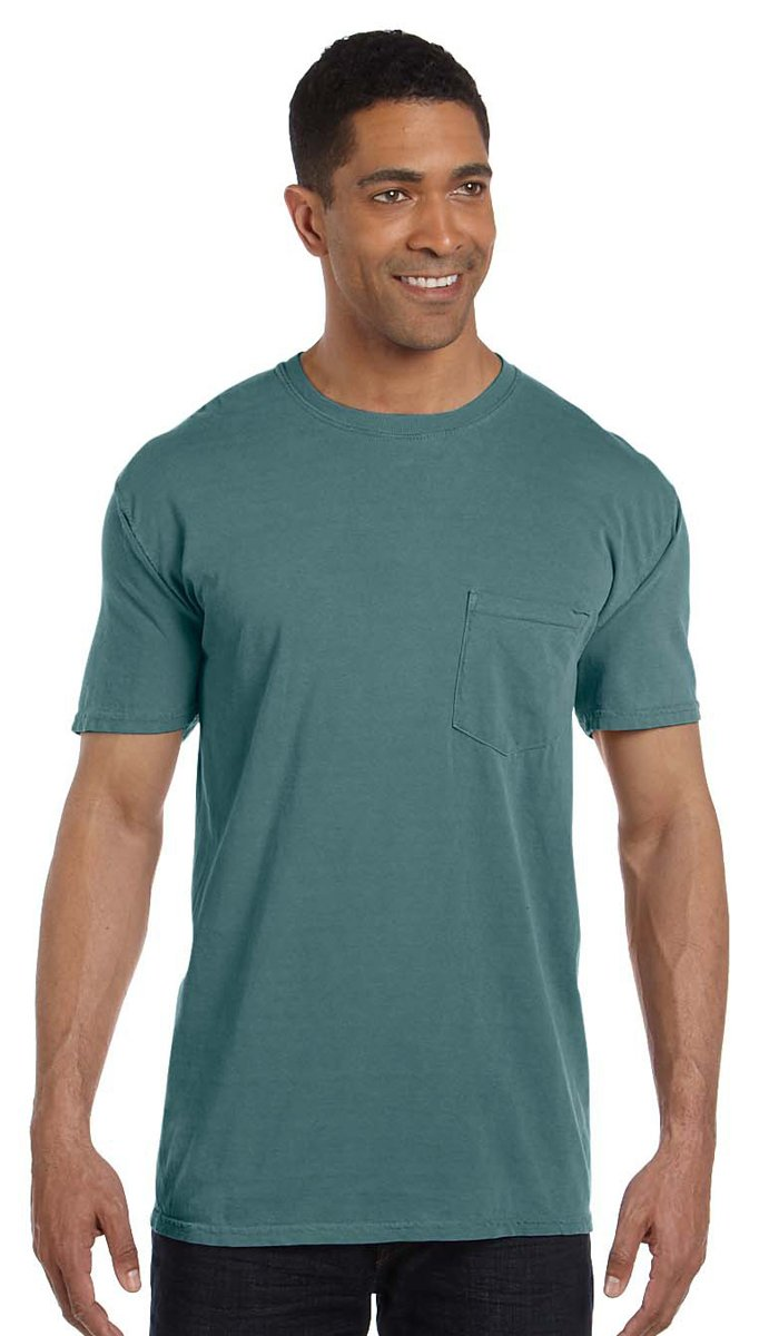 Garment-Dyed Pocket T-Shirt Comfort Colors 6.1 oz