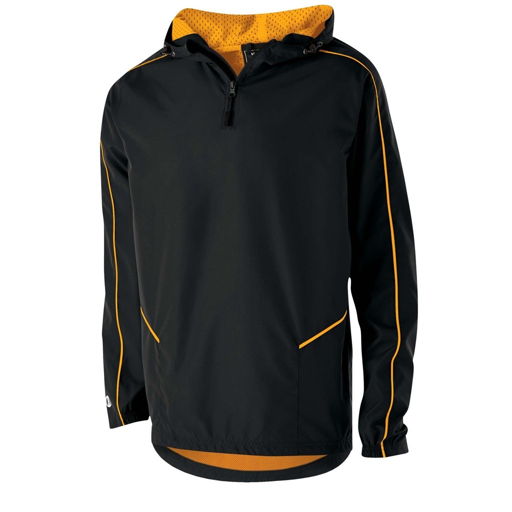 Holloway Wizard Youth Pullover (Large, Black/Light Gold) by Holloway