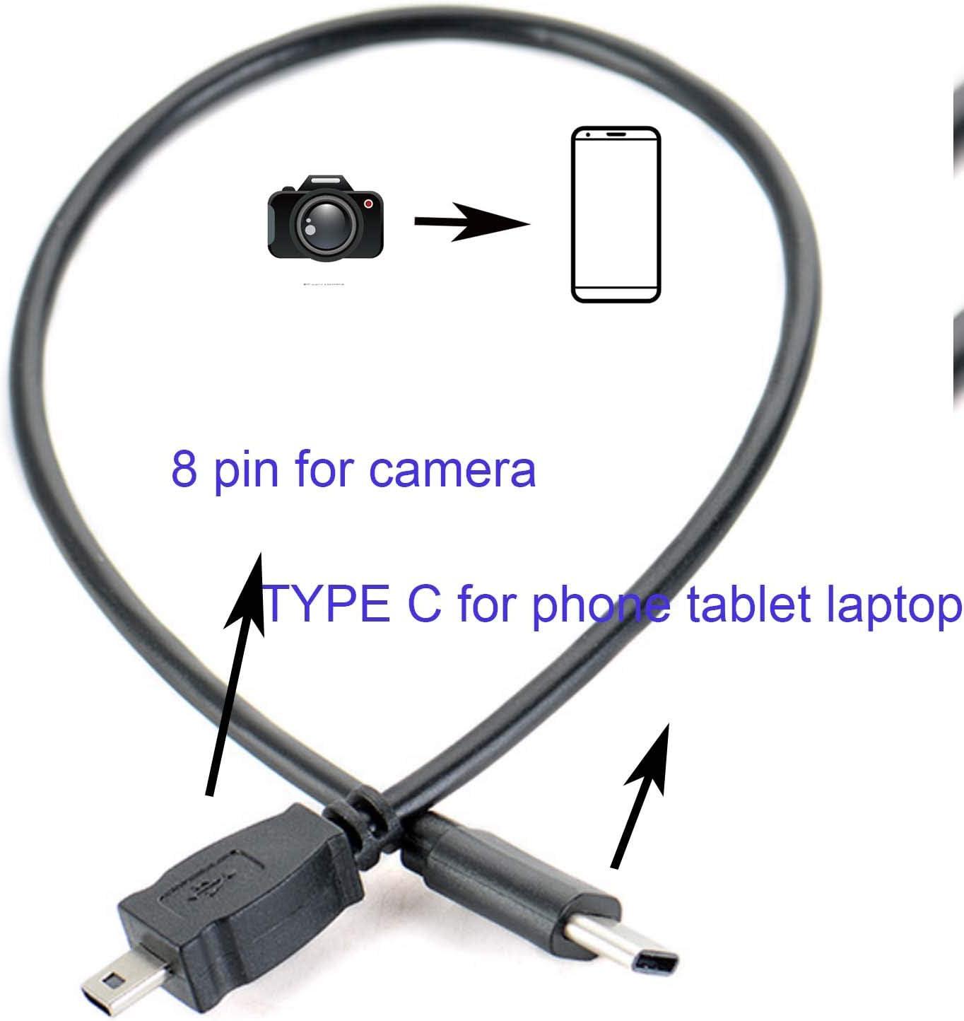 Microfiber Cleaning Cloth for LCD Screen Tablet Phone Computer Laptop Glasses Lens Eyeglasses UC-E16 UC-E17 Camera Compatible//Nikon Coolpix S6000 S6150 S6200 S6100 6 feet USB 2.0 Nikon UC-E6