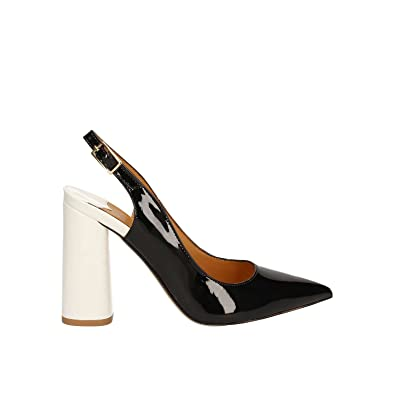 Café Noir MA322 Decolletè Femmes Noir Noir - Chaussures Sandale Femme