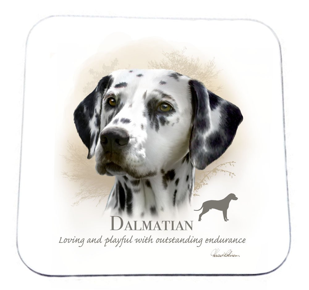 Howard Robinson Dalmatian Drinks Coaster