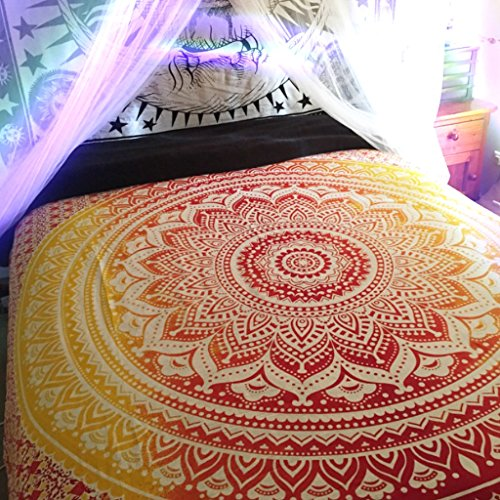 BIG Mandala Hippie Tapestry, Hippie Wall Hanging Tapestries,