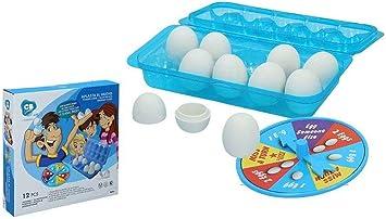 Color Baby Rompe El Huevo Juego Mesa Caja 27x27x5cm: Amazon.es: Juguetes y juegos
