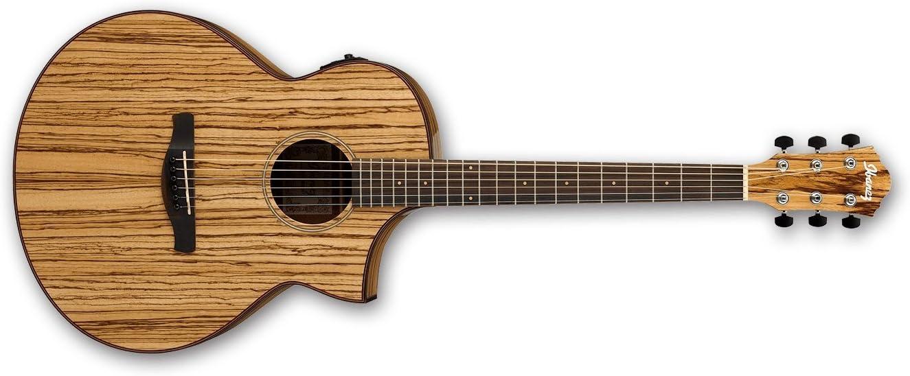 Ibanez AEW40ZW-NT · Guitarra acústica: Amazon.es: Instrumentos ...