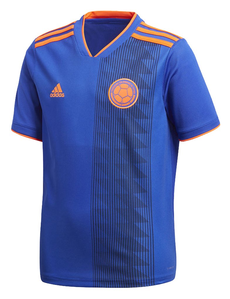 Amazon.com : adidas Youth Soccer Colombia Away Jersey : Sports & Outdoors