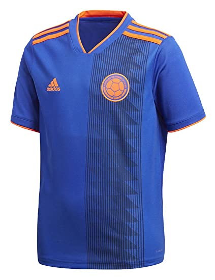 b55a419f827 Amazon.com   adidas Youth Soccer Colombia Away Jersey   Sports ...