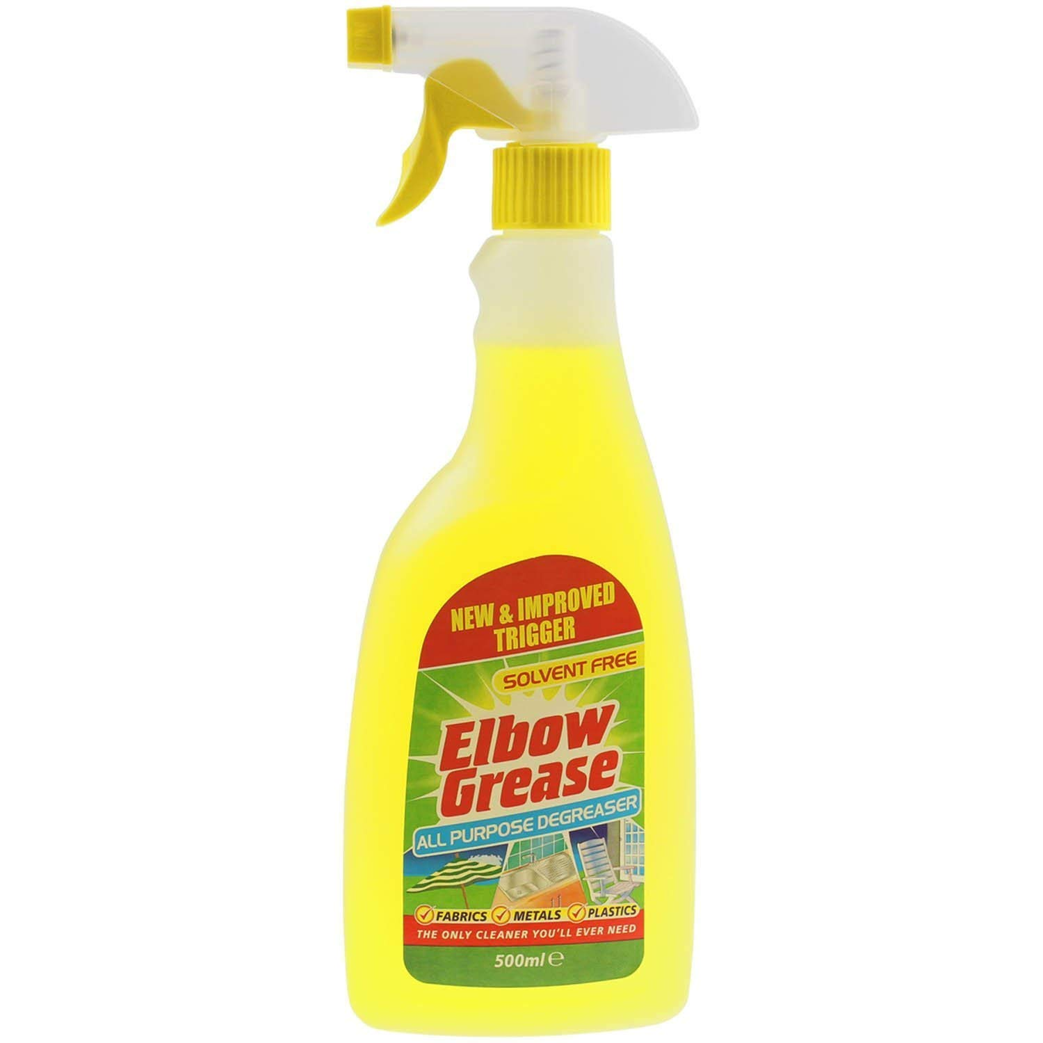 2 X Elbow Greese 500ml All Purpose De-Greaser