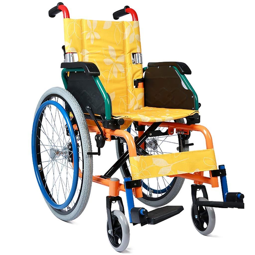 HLZXQZXQ Silla de ruedas para niños, plegable Portátil ...