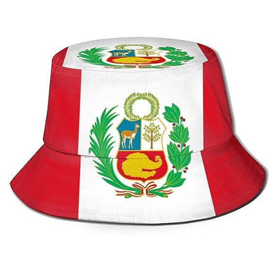 htrewtregregre Peru Flag Fisherman Hats Sombreros de Pescador ...