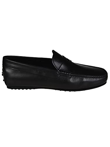 3033572fca Tod's City Gommino Driving Shoes in Leather Nero Uomo: Amazon.co.uk ...