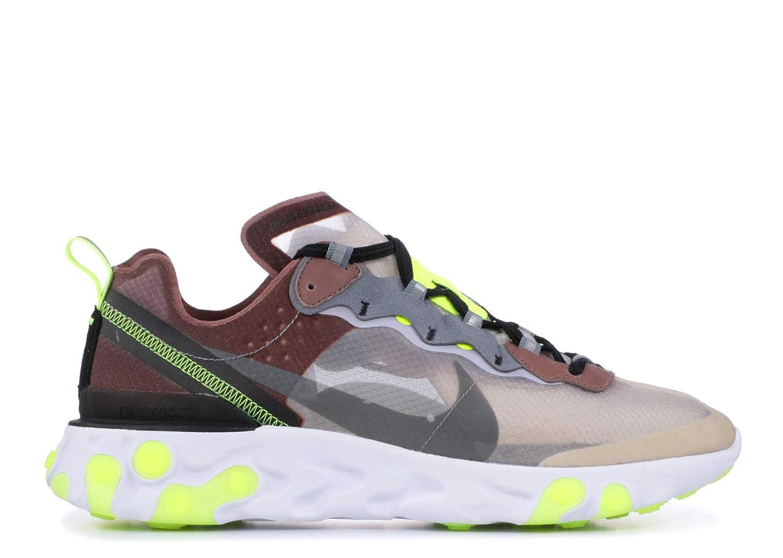 4cc2d32418f07a Nike React Element 87 - AQ1090-002 - Size 40.5-EU  Amazon.de  Schuhe    Handtaschen