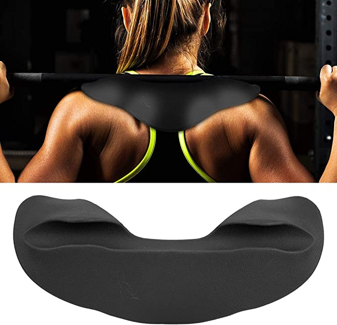 Barbell Pad Squat Weight Lifting Foam Neck Shoulder Protector Support Black