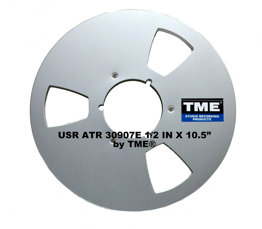 ATR Style 1/2'' X 10.5'' Metal Takeup Reel for Open Reel Tape by TME by TME