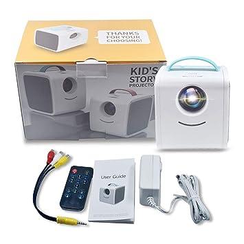 Q2 Mini Proyector portátil Proyector de Video Full HD ...