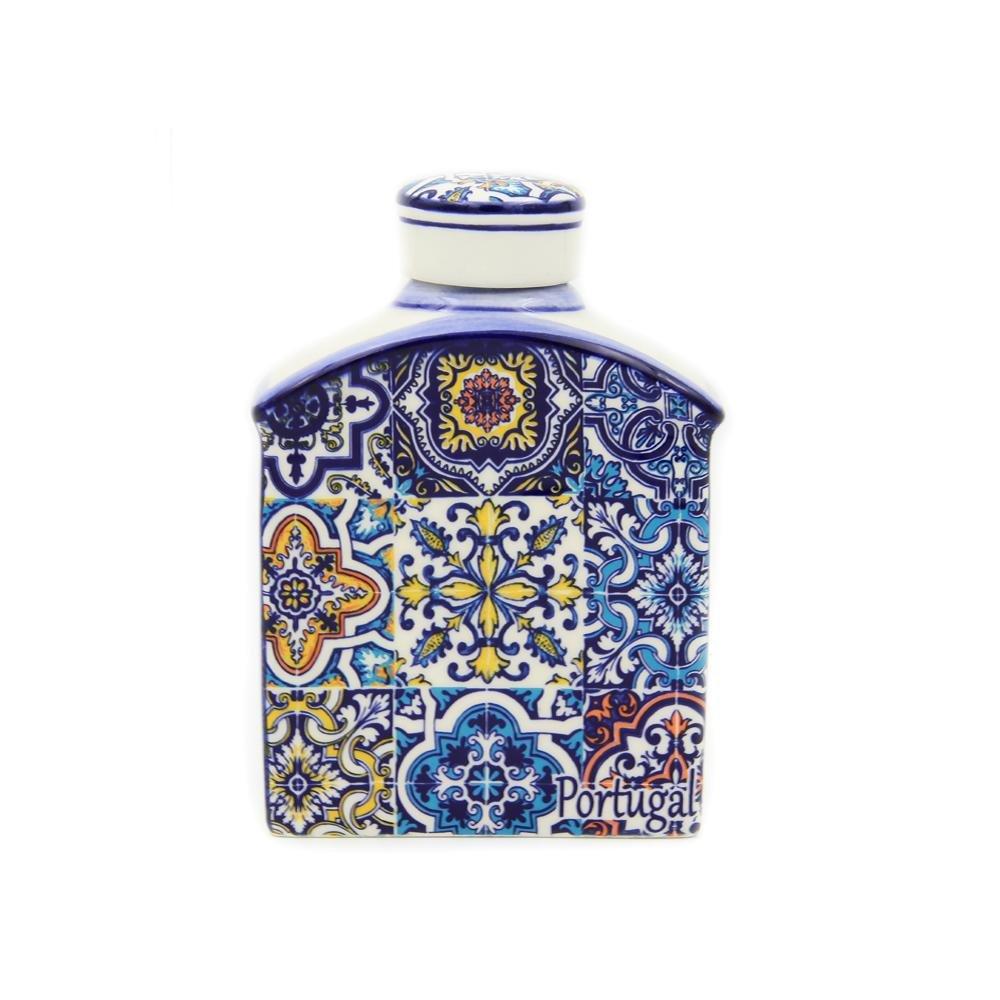 [宅送] 手描き装飾従来ポルトガル語セラミックフラスコ S ブルー ブルー ブルー ブルー B07CQ7RT63 B07CQ7RT63, グレゴリーオンラインストア:a5124be1 --- a0267596.xsph.ru