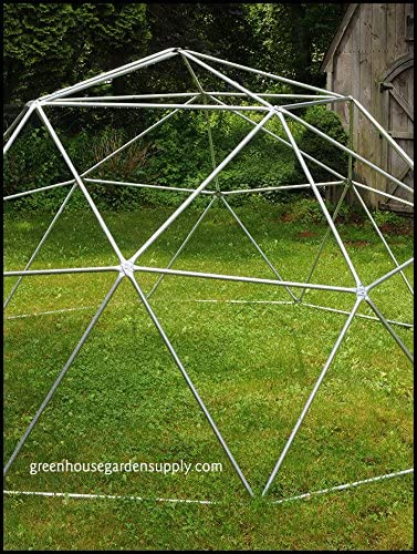 Geodesic Dome 12 Ft. Frame Only – Greenhouse for Aquaponics