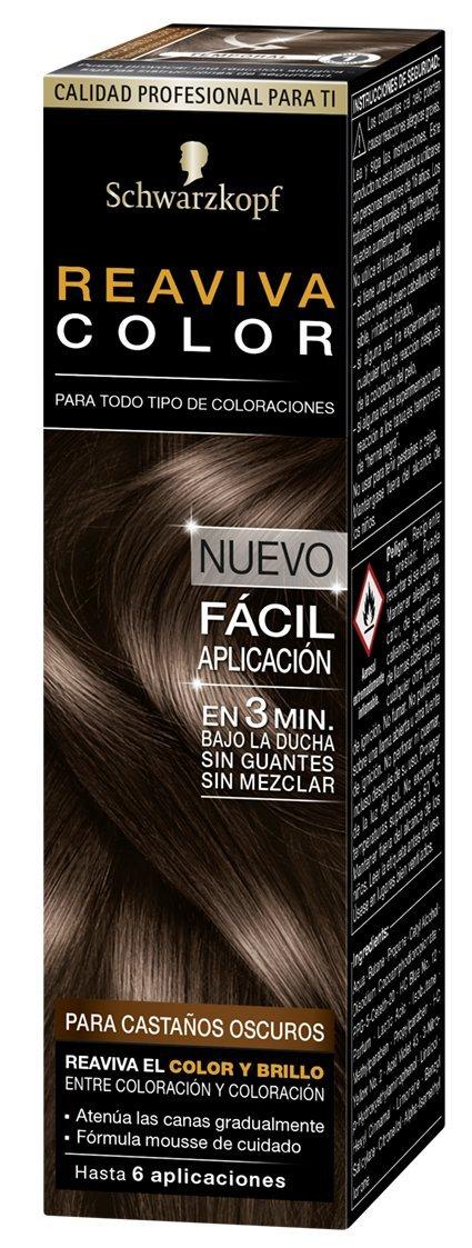 Schwarzkopf Reaviva Color Formula de Coloración, Negro - 75 ml Henkel Iberica SA 2207833