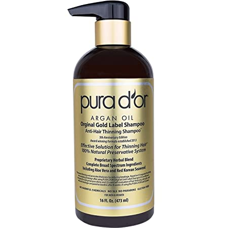 PURA D'OR Anti-Thinning Shampoo