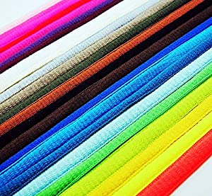 20 pairs Athletic 45 Inch SHOELACES Sport Sneaker Boots Shoe Laces Strings (Oval) (Color: Oval, Tamaño: 110cm * 0.8cm)