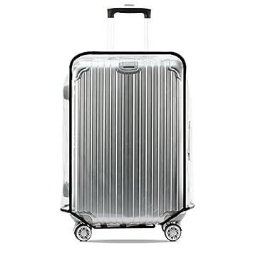 Funda para maleta de equipaje, Sorliva, impermeable, universal, transparente, protección para equipaje: Amazon.es: Oficina y papelería