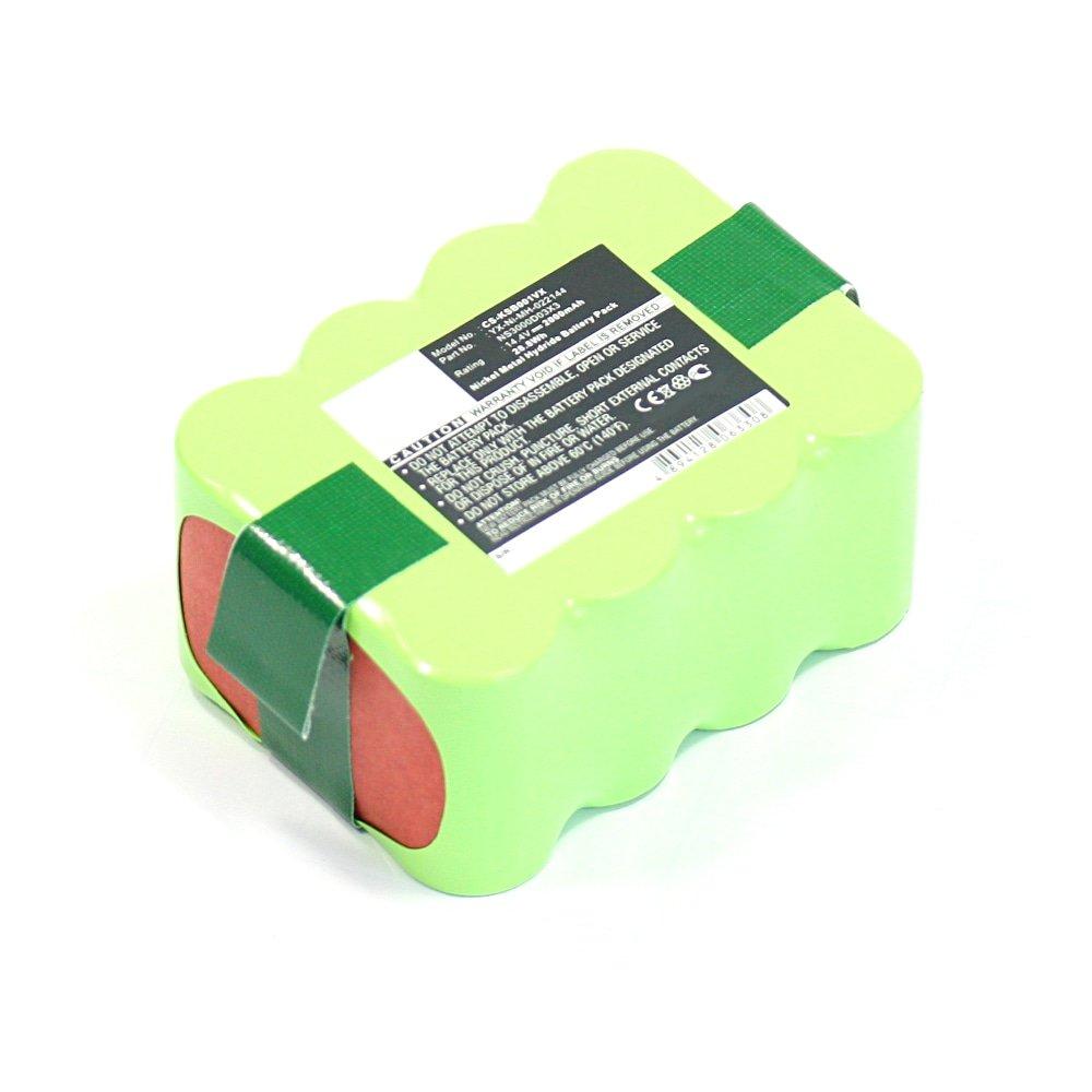 subtel® Batería Premium (14.4V, 2000mAh, NiMH) Compatible con Klarstein Cleanfriend Auto Cleaner Intelligent Floor Vac: Amazon.es: Electrónica