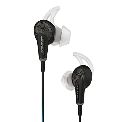eafa9c5435f Amazon.com: Bose QuietComfort 20 Acoustic Noise Cancelling Headphones,  Apple Devices, Black - 718839-0010: Home Audio & Theater