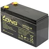 Kung Long WP7,2-12 Batterie au plomb Certifiée VdS 12 V 7,2 Ah 151 x 65 x 102 mm