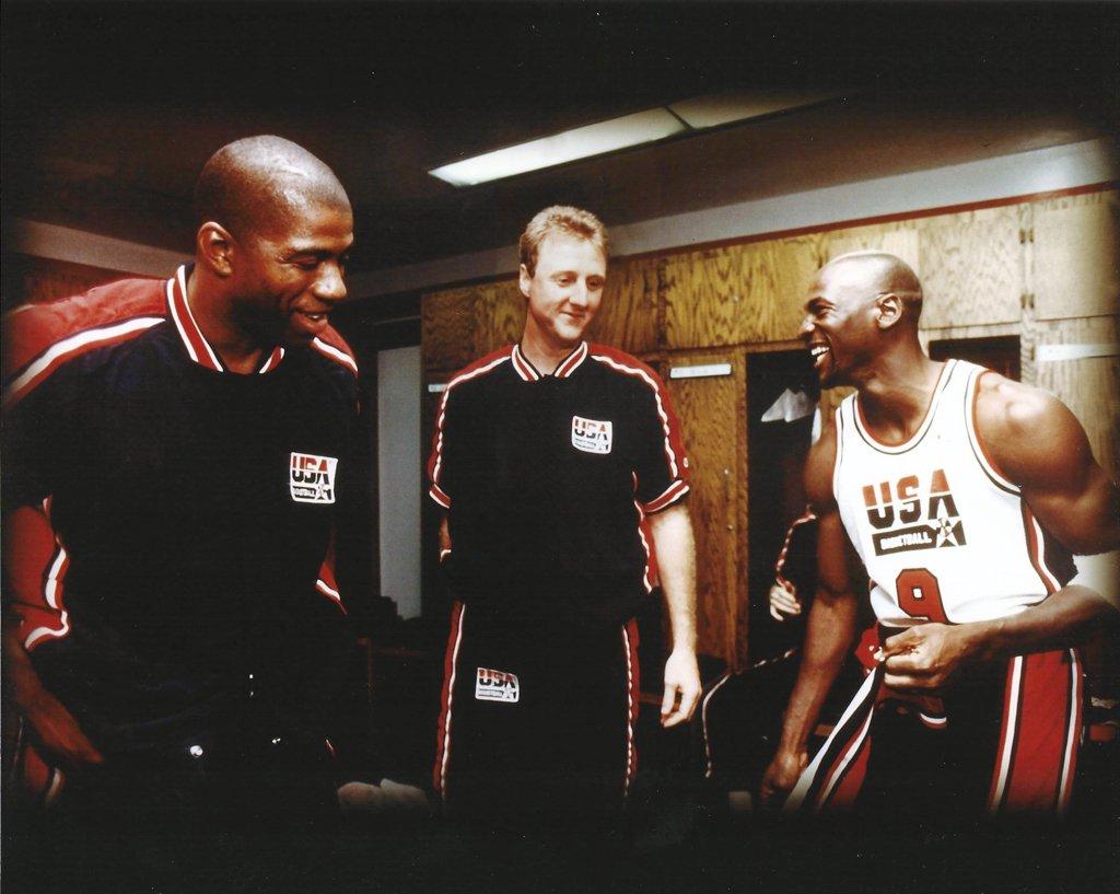 バスケットボールドリームチーム:マジックジョンソン、ラリー鳥、マイケルジョーダン – 20