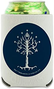 Lord of the Rings Tree of Gondor Can Cooler - Drink Sleeve Hugger Collapsible Insulator - Beverage Insulated Holder