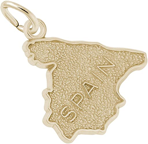 10k Yellow Gold Graduation Charm Charms for Bracelets and Necklaces