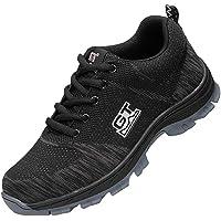 Fityle Zapatos De Seguridad Respirables Para Hombres Botas De Trabajo Con Punta De Acero Zapatos De Escalada Para Senderismo
