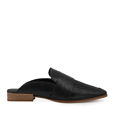 Free People at Ease Women's Loafer in Black Leather | Loafers & Slip-Ons
