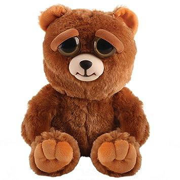 Mac Due Italy - Peluche Feisty Pets Oso, Color marrón, 323599: Amazon.es: Juguetes y juegos