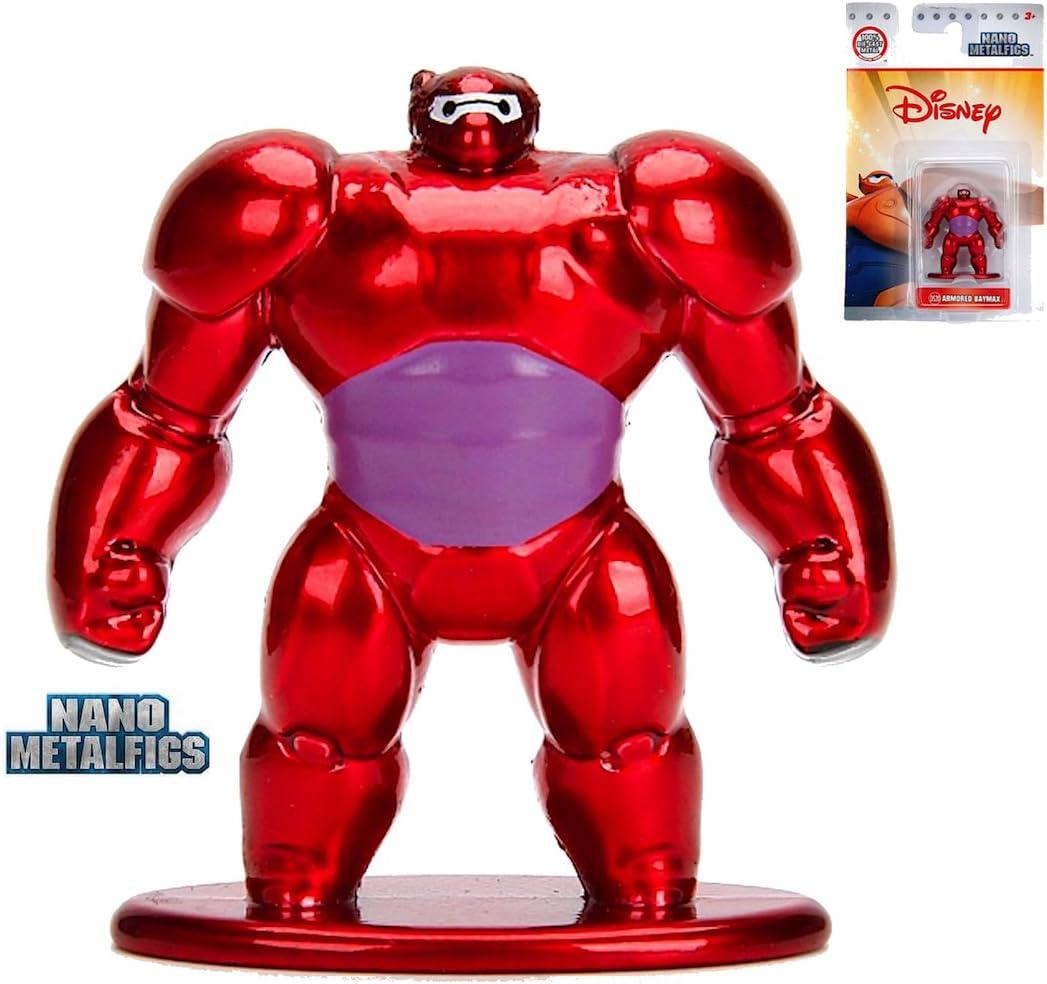 "Disney Big Hero 6 Baymax Armored 4/"" Action Figure Movie Toy Brand New Marvel"