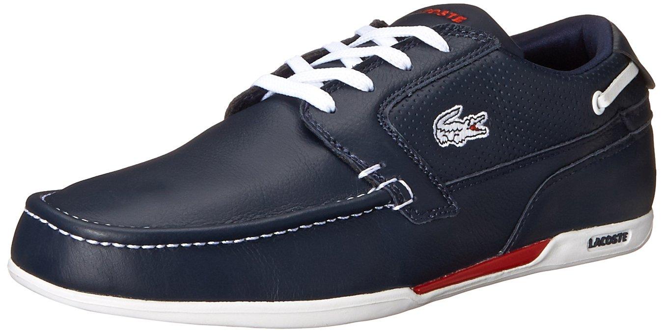 3e45464ba8fc9e Galleon - Lacoste Men s Dreyfus Boat Shoe
