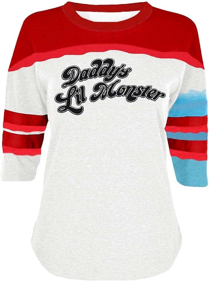 Camiseta de Harley Quinn del Escuadrón suicida de The Cosplay ...