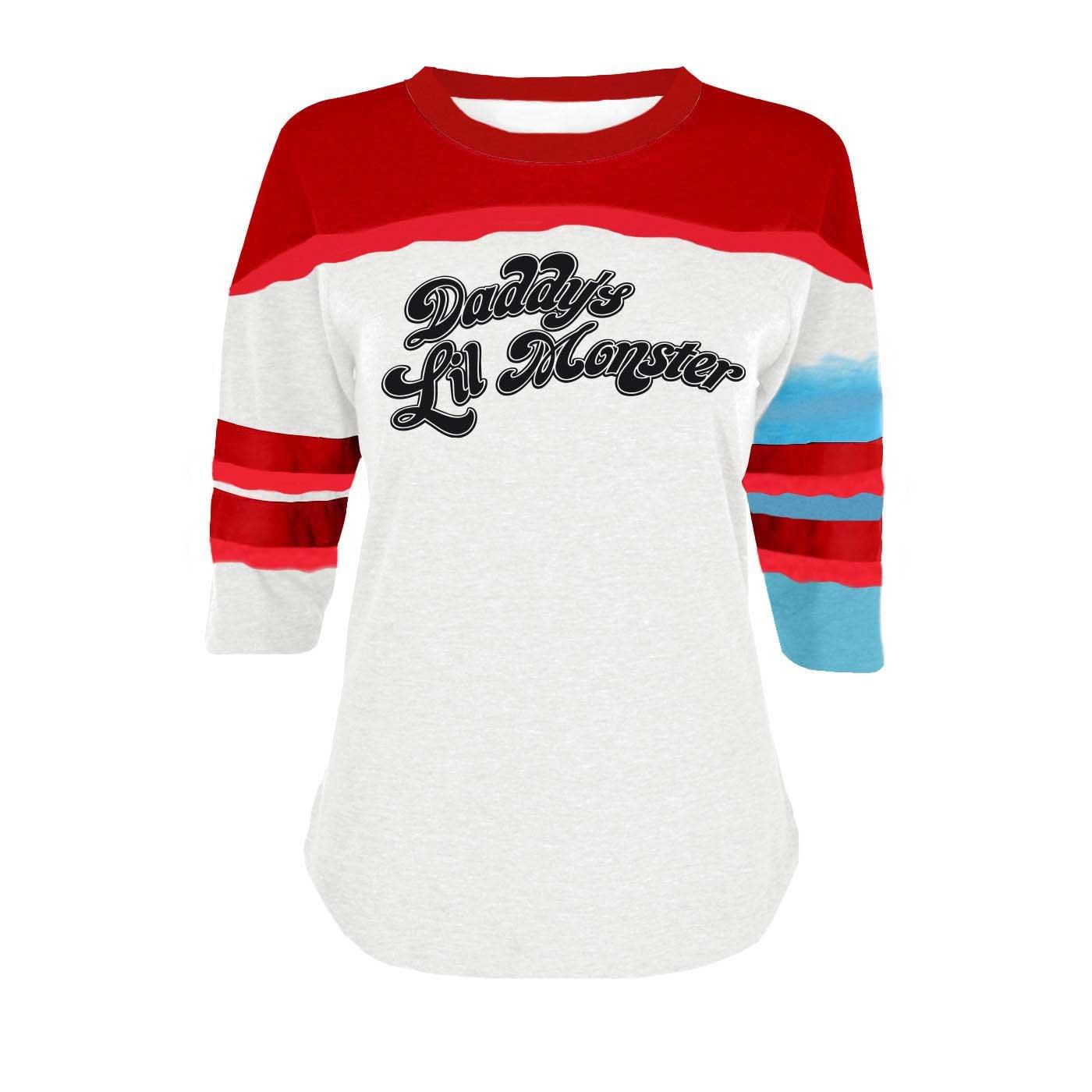 NEW Suicide Squad Harley Quinn T-shirt pour femme