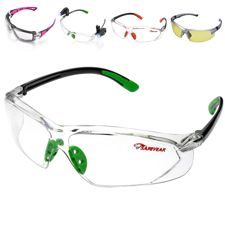 SAFEYEAR Gafas Protectoras Hombres Antiniebla - Gafas de Seguridad ...