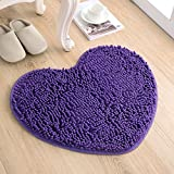 Love the door mat mat in the foyer bathroom and kitchen Ottomans bedroom carpet -5060cm Purple