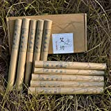 3 years Pure Handmade Moxa Rolls for Moxibustion Ai ye Chinese Wormwood by Aimoxa