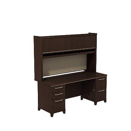 Amazon Com Bush Business Furniture Enterprise 72w X 30d Double
