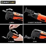 Oscillating Tool Blades, EnerTwist ET-OB-25 25Pcs