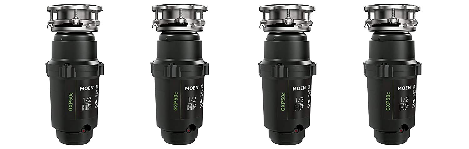 Moen GXP50C GX PRO Series 1//2 hp Garbage Disposal
