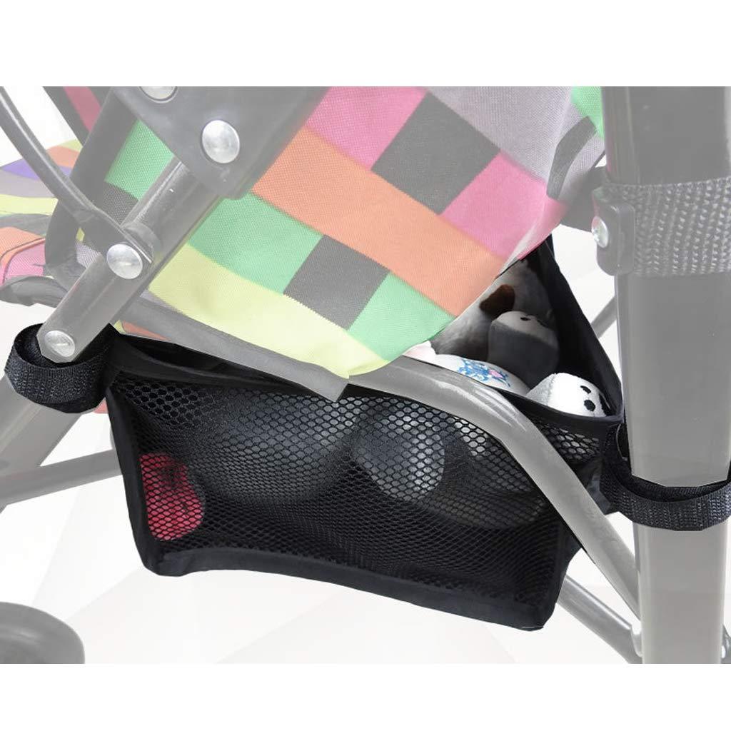 S Manyo Baby Stroller Basket Stroller Hanging Basket Pram Bottom Organizer Bag