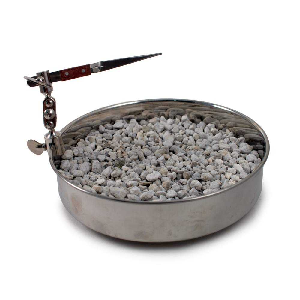 Annealing Pan w/Tweezers and Pumice 7 inch SFC Tools - KIT-1710