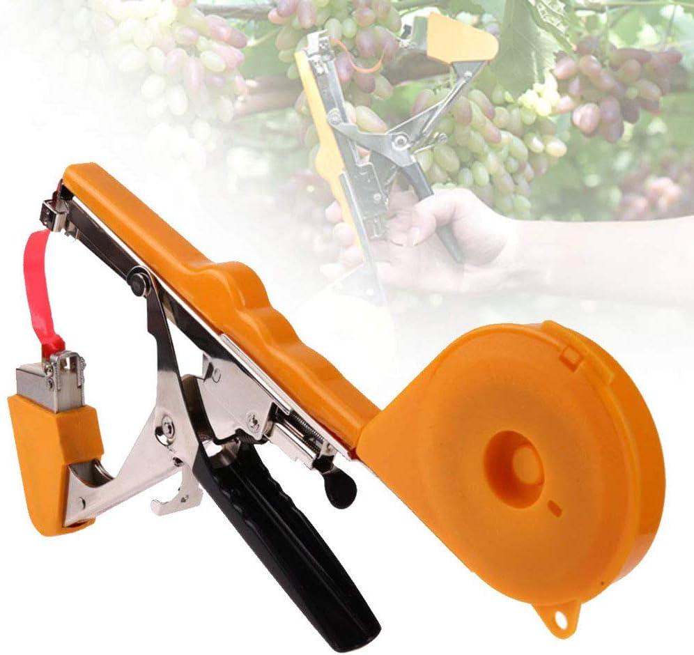 GNB Máquina atadora Herramienta de viñedo Jardín Planta de Enredadera Planta de enredar Agricultura Máquina para enmarañar a Mano Arreglar la Planta de Enredadera como Tomate, Pepino: Amazon.es: Deportes y aire libre