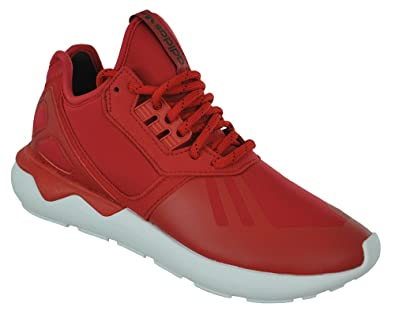 outlet store wholesale sales to buy Adidas Tubular Runner Originals Trefoil Unisex Sneaker Sports Shoes Red,  Sizes:EU/45 - UK/10.5 - US/11