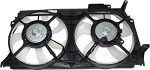 Garage-Pro Cooling Fan Assembly for SUBARU BRZ 2013-2018/FR-S 2013-2016 Dual Fan