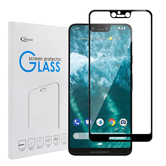 best sneakers 7788b d19e2 Amazon.com: Qoosea Compatible Google Pixel 3XL Screen Protector ...